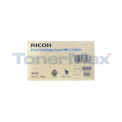 RICOH AFICIO MP C1500A PRINT CARTRIDGE CYAN